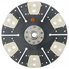 "11"" Transmission Disc, 6 Pad, w/ 1"" 15 Spline Hub - Reman"