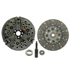 "11"" Dual Stage Clutch Kit, w/ 15 Spline Transmission Disc, Bearings & Alignment Tool - Reman"