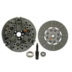"11"" Dual Stage Clutch Kit, w/ 10 Spline Transmission Disc, Bearings & Alignment Tool - Reman"