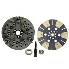 "11"" Dual Stage Clutch Kit, w/ 6 Pad Disc, Bearings & Alignment Tool - New"