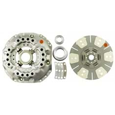 "13"" Single Stage Clutch Kit, w/ 6 Pad Disc & Bearings - Reman"