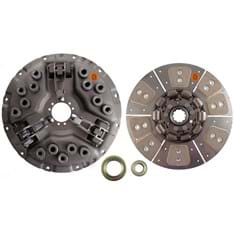 "14"" Single Stage Clutch Kit, w/ 8 Large Pad Disc & Bearings - Reman"