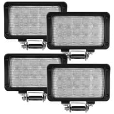 CREE LED Flood Beam Light Kit, 3150 Lumens - (Pkg. of 4)