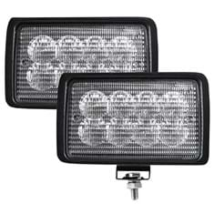 CREE LED Flood Beam Light Set, 3200 Lumens - (Pkg. of 2)