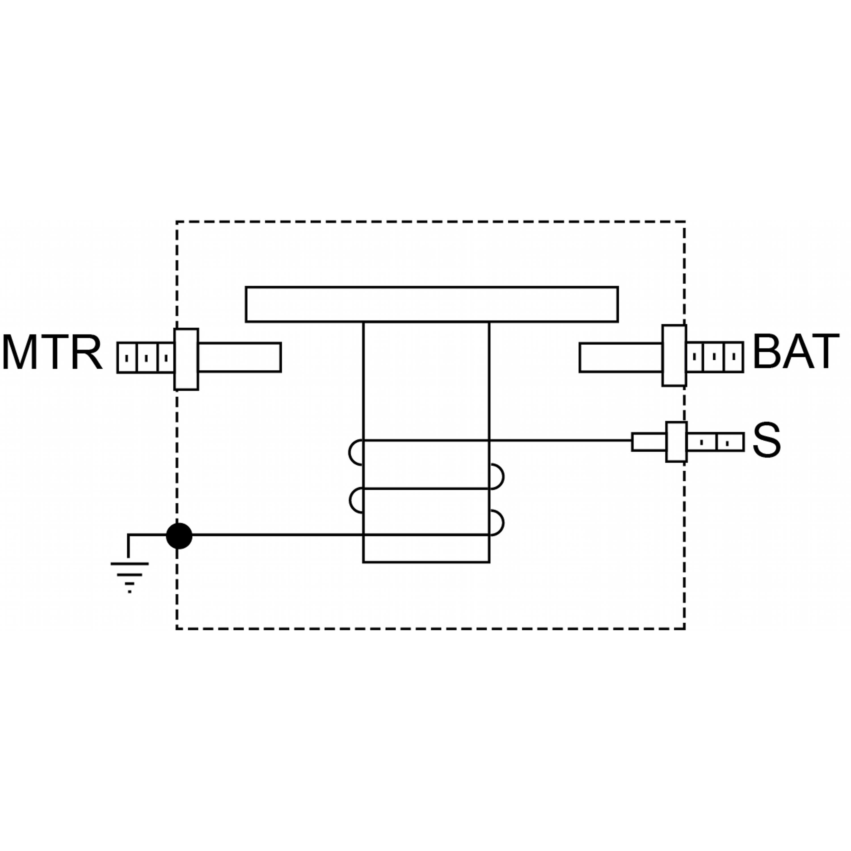 Prestolite Cab Solenoid Switch on