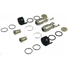 "Hydraulic Coupler Conversion Kit, Female & Male, w/ 1/2"" Male Tips"