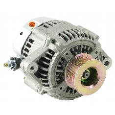Alternator - New, 12V, 140A, Aftermarket Nippondenso