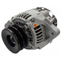 Alternator - New, 12V, 45A, Aftermarket Nippondenso