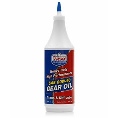 Lucas Heavy Duty 80W-90 Gear Oil, 1 qt. Bottle (Case of 12)