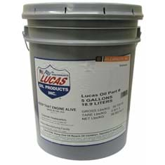 Lucas SAE 30 Engine Break-In Oil, 5 gal. Pail