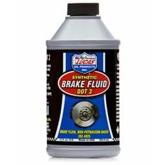 Lucas Synthetic Brake Fluid (DOT 3), 12 oz. Bottle (Case of 12)