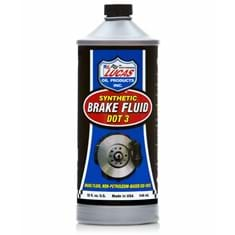 Lucas Synthetic Brake Fluid (DOT 3), 32 oz. Bottle (Case of 12)