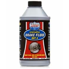 Lucas Synthetic Brake Fluid (DOT 4), 12 oz. Bottle (Case of 12)