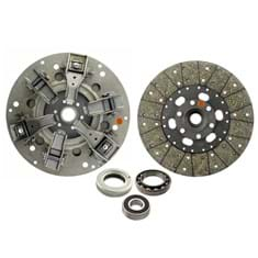 "12"" Dual Stage Clutch Kit, w/ Woven Disc & Bearings - New"