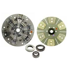 "12"" Dual Stage Clutch Kit, w/ 6 Large Pad Disc & Bearings - New"