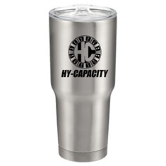 Hy-Capacity Stainless Steel Double Wall Tumbler, 22 oz.