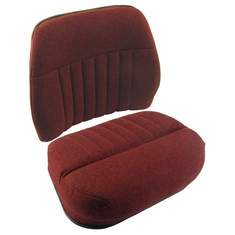 Cushion Set, Red Fabric, Deluxe Style - (2 pc.)