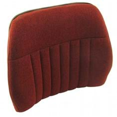 Back Cushion, Red Fabric, Deluxe Style