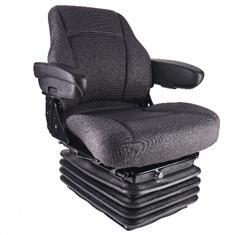 Sears Mid Back Seat, Gray Fabric w/ Air Suspension