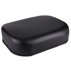 Seat Cushion, Black Vinyl
