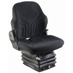 Grammer Mid Back Seat, Black Fabric w/ Air Suspension