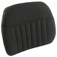 Back Cushion, Black Fabric