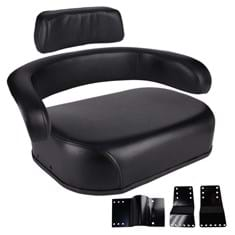 Wrap-Around Seat, Black Vinyl