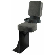 Side Kick Seat, Gray Fabric
