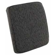 Arm Rest Cushion for Side Kick Seat, Gray Fabric