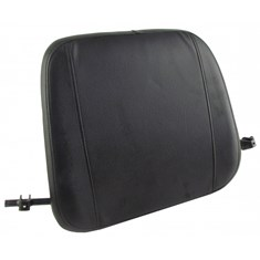 Back Cushion, Black Vinyl