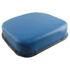 Seat Cushion, Blue Vinyl