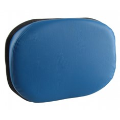 Back Cushion, Blue Vinyl