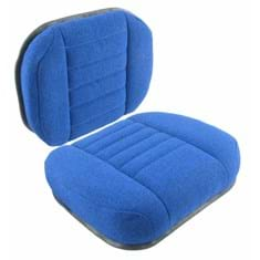 Cushion Set, Blue Fabric - (2 pc.)