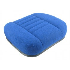 Seat Cushion, Blue Fabric
