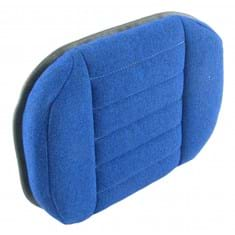 Back Cushion, Blue Fabric