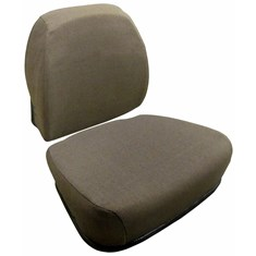 Cushion Set, Dark Brown Fabric, Personal Posture w/ Mechanical Suspension - (2 pc.)