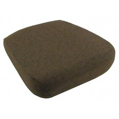 Seat Cushion for Side Kick Seat, Dark Brown Fabric
