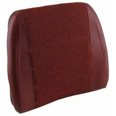 Back Cushion, Maroon Fabric & Vinyl